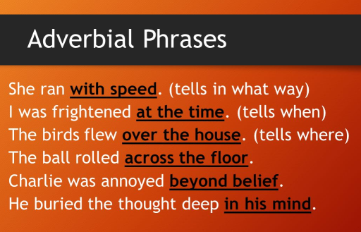 How Literal Adverbial Phrases Differ From Idiomatic Ones