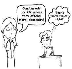 Condoms and Morality