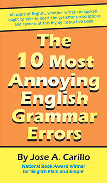 The 10 Most Annoying English Grammar Errors Cover